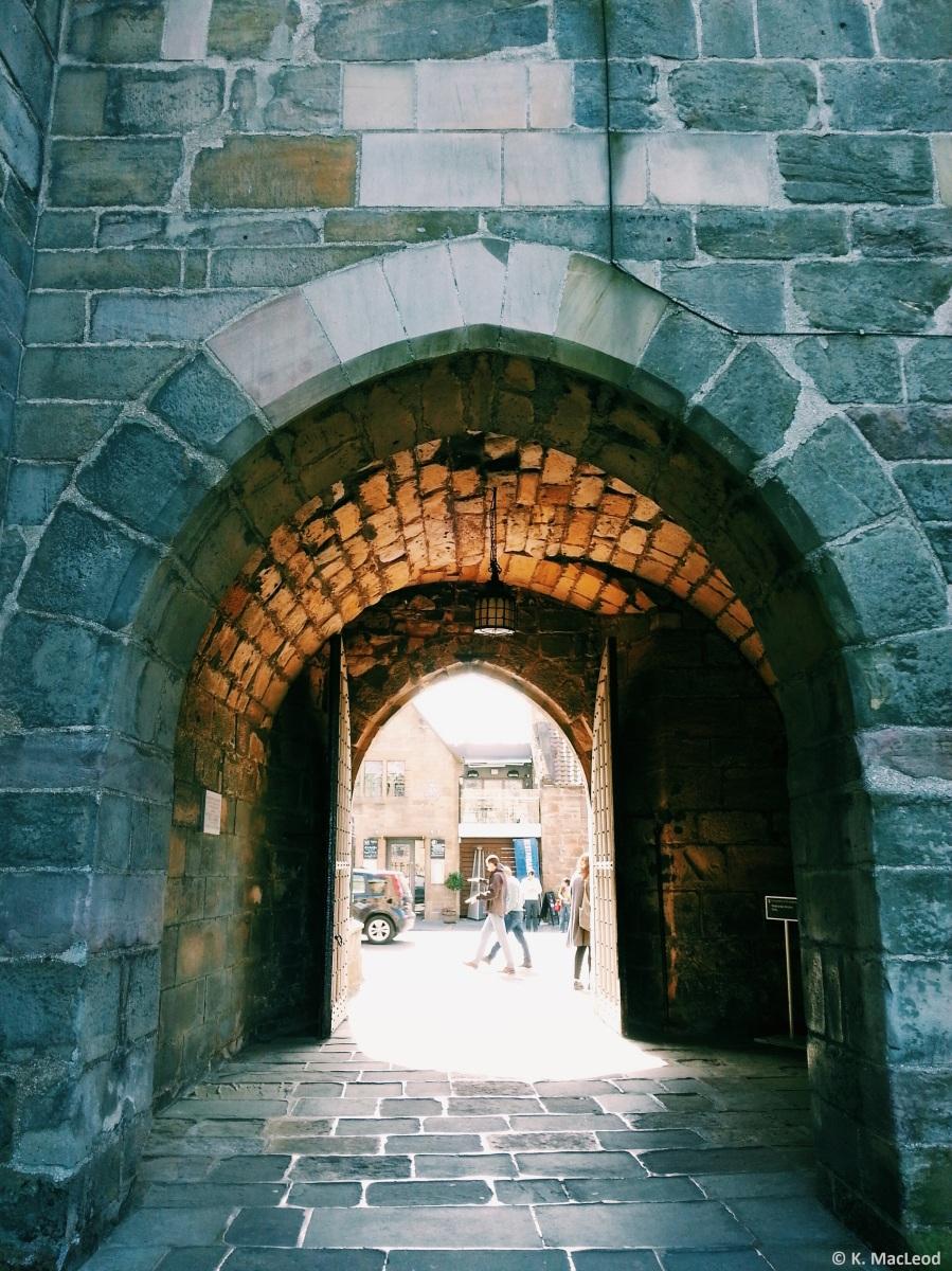 Entrance to the Quadrangle
