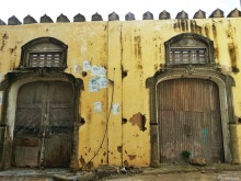 Old port doors, Mombasa