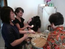 Making dumplings