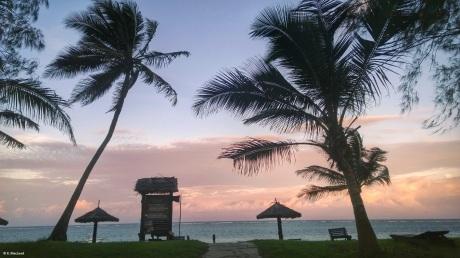 Sunset at Diani Sea Resort