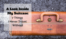 A Look Inside My Suitcase-